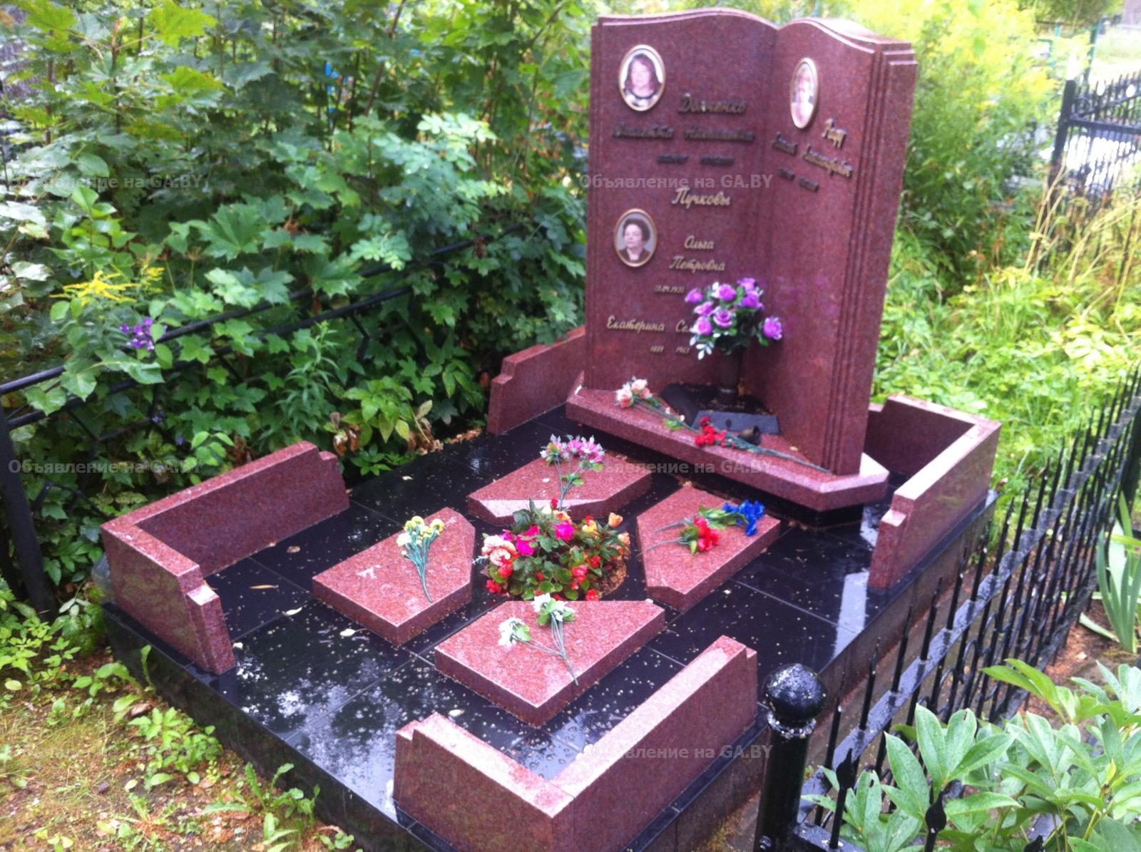 варианты надгробных памятников фото могут присутствовать декоре