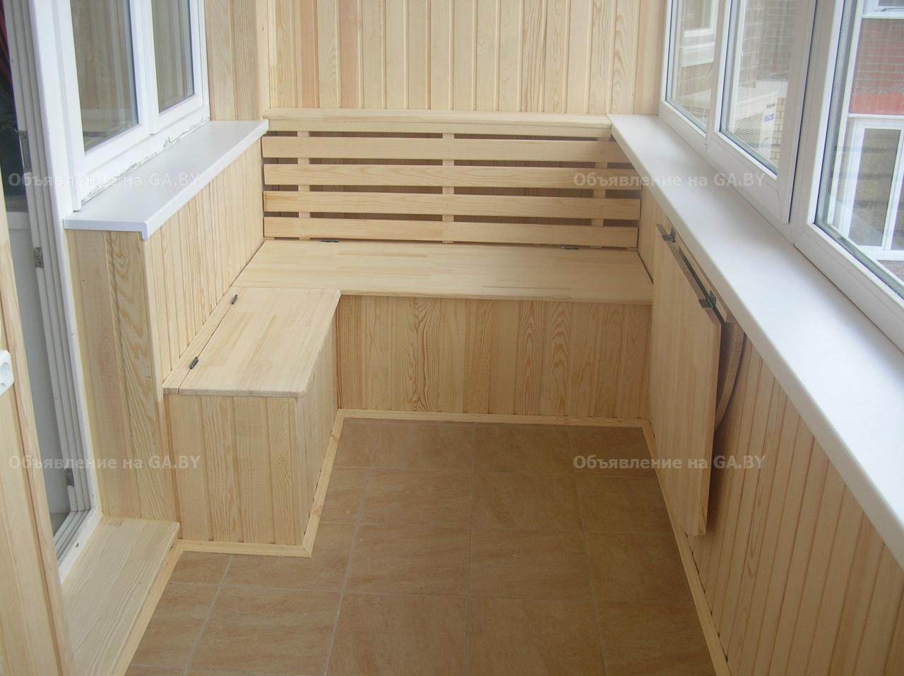 Внутренняя отделка и утепление балконов в Челябинске от комп.